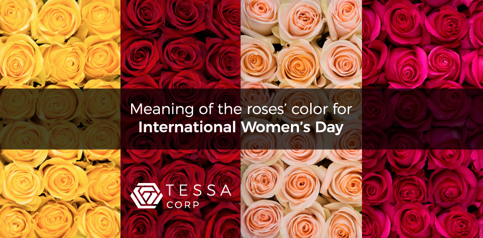 Rose Color Meanings For Womens Day Tessacorp
